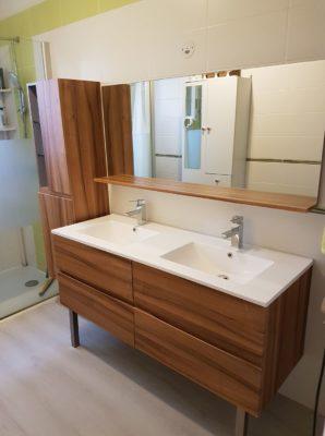Plomberie et pose de meuble de salle de bains